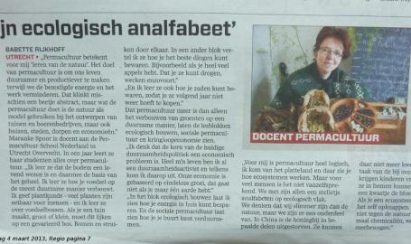 Mooi werk AD-Utrecht 4 maart 2013